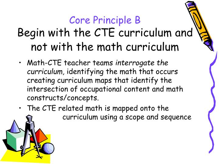 Core Principle B