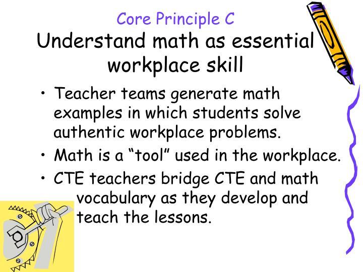 Core Principle C