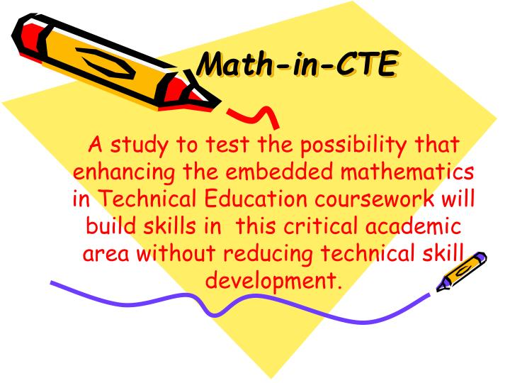 Math-in-CTE