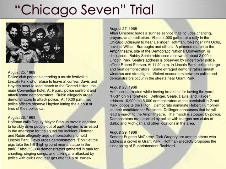 """""""Chicago Seven"""" Trial"""