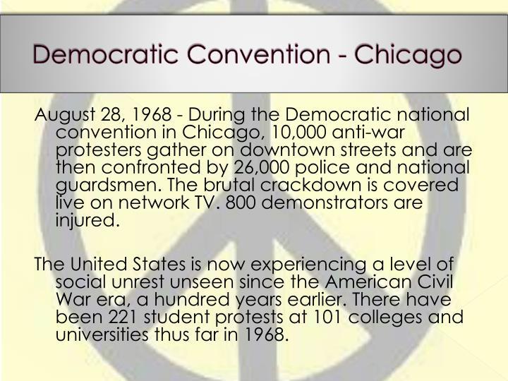Democratic Convention - Chicago