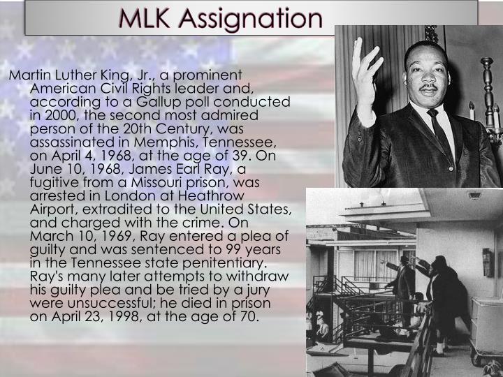 MLK Assignation