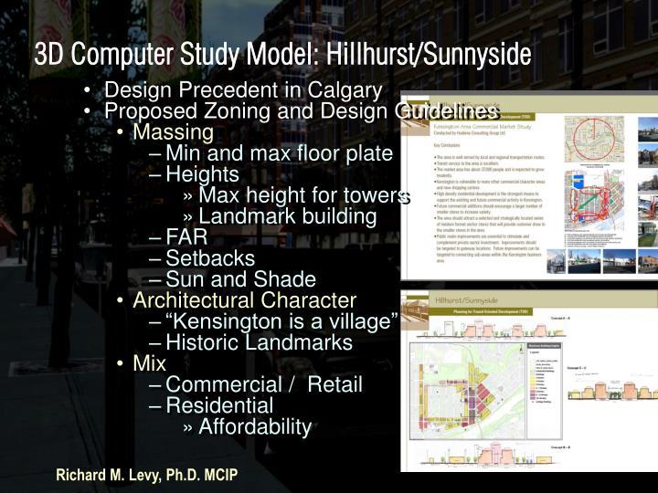 Design Precedent in Calgary