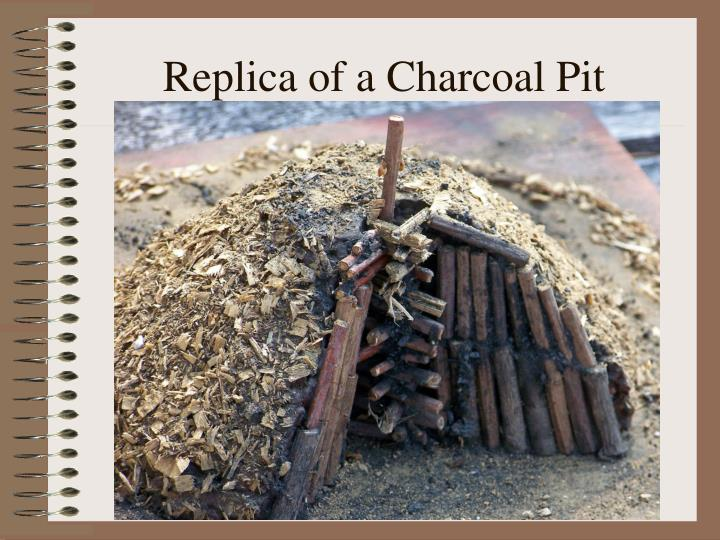 Replica of a Charcoal Pit