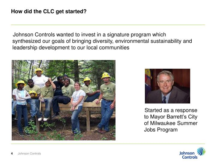 How did the CLC get started?