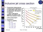 inclusive jet cross section4