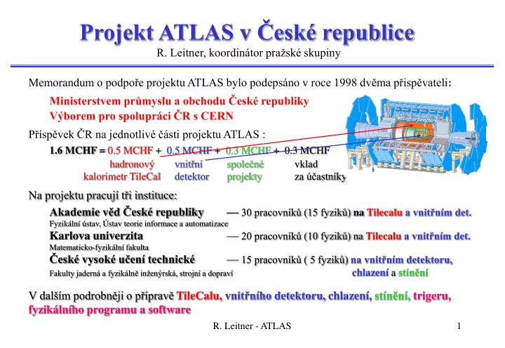 Projekt atlas v esk republice