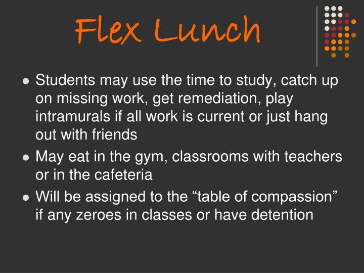 Flex Lunch