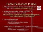 public responses to kelo