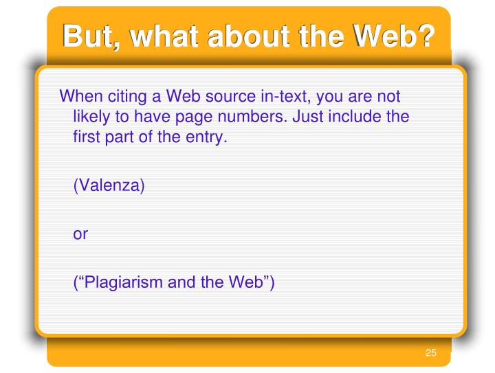 But, what about the Web?