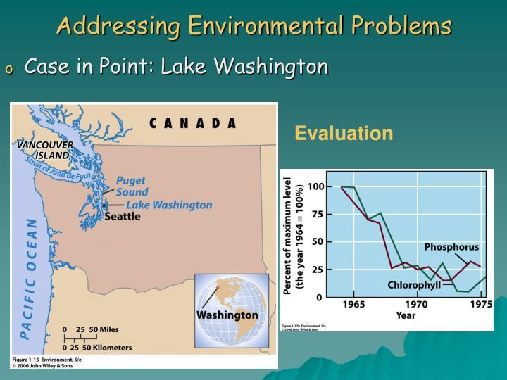 Addressing Environmental Problems