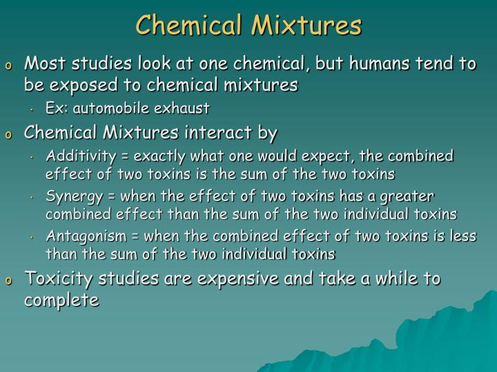 Chemical Mixtures