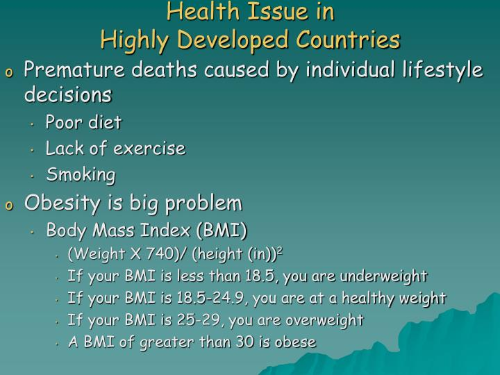 Health Issue in
