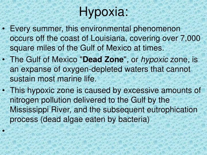 Hypoxia: