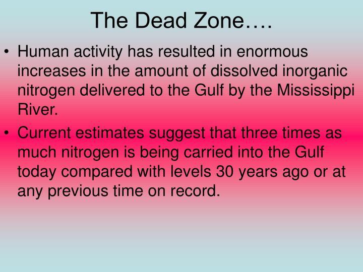 The Dead Zone….