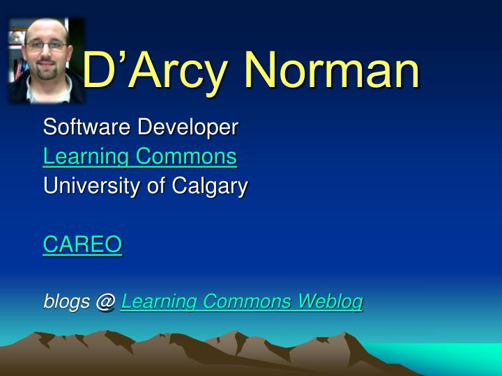 D'Arcy Norman