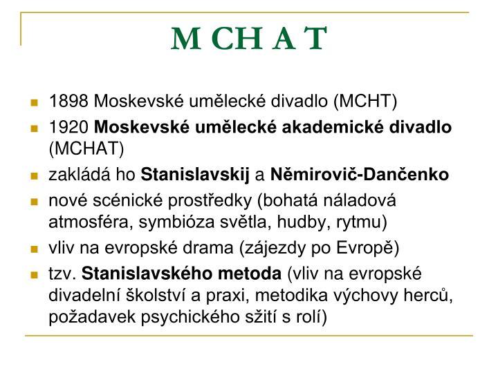 M CH A T