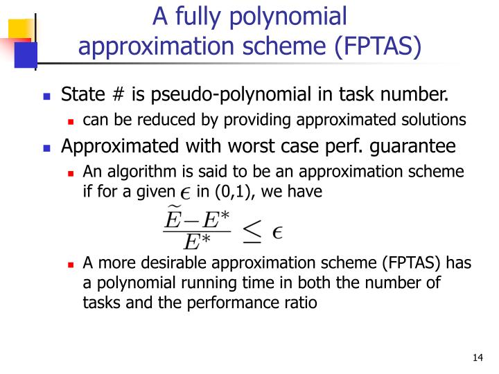 A fully polynomial