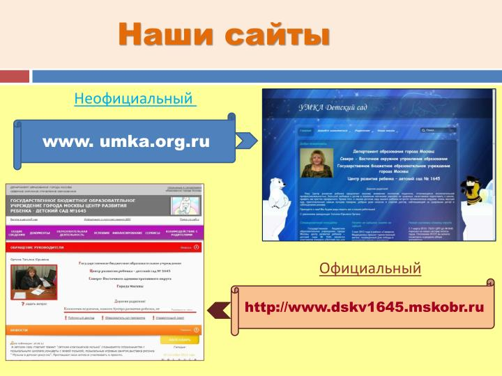 Наши сайты