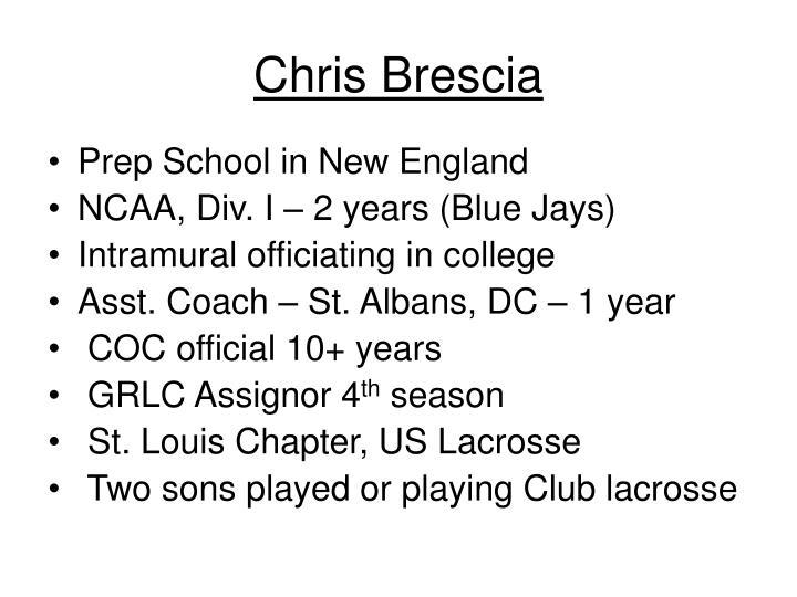 Chris Brescia