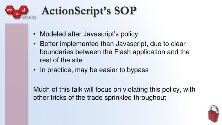 ActionScript's