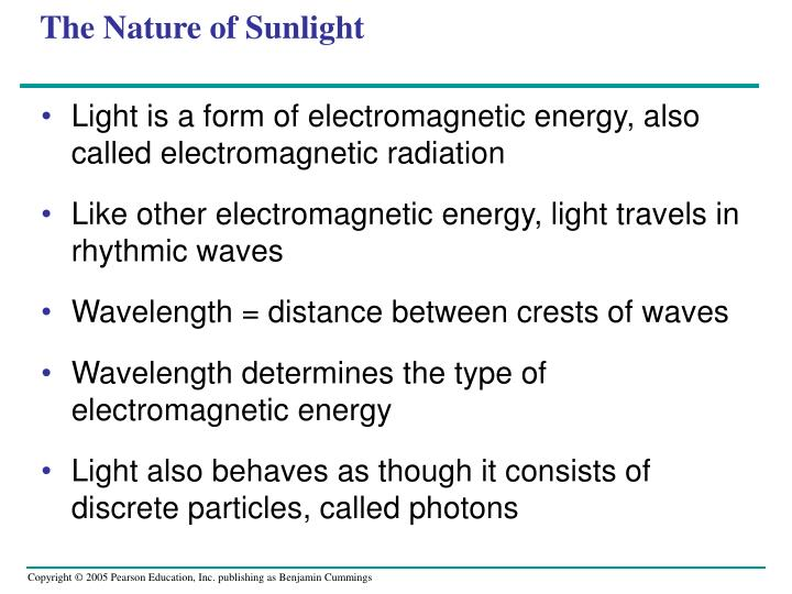 The Nature of Sunlight