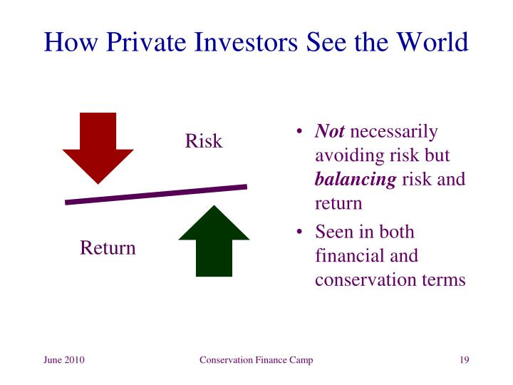 How Private Investors See the World