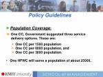 policy guidelines1