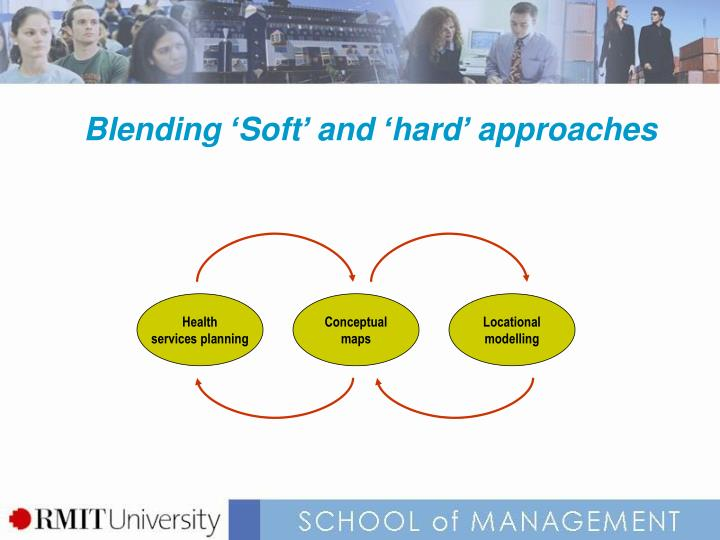 Blending 'Soft' and 'hard' approaches