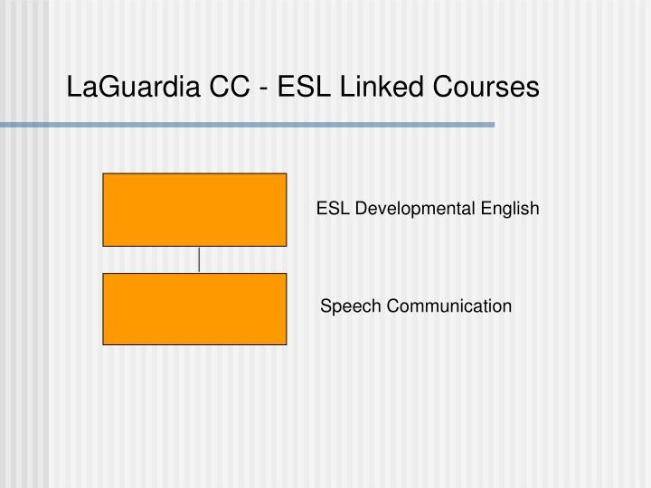LaGuardia CC - ESL Linked Courses