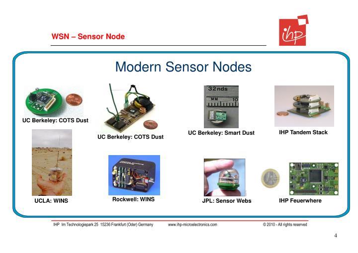 WSN – Sensor Node