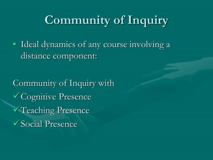 Community of Inquiry