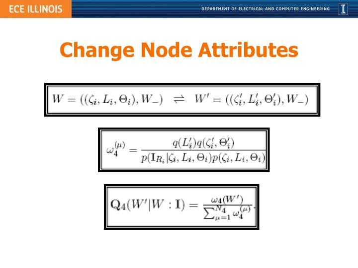 Change Node Attributes