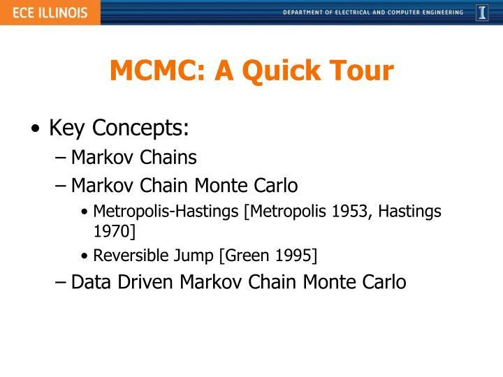 MCMC: A Quick Tour