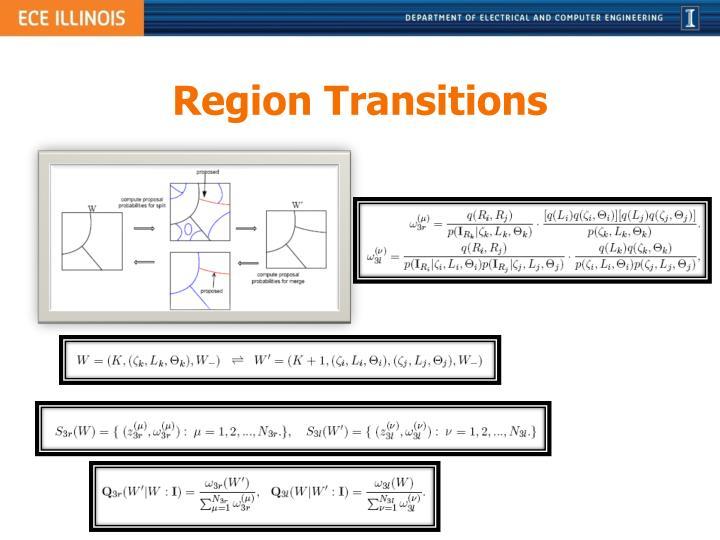 Region Transitions