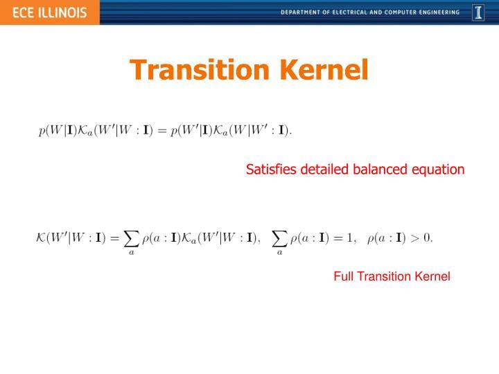 Transition Kernel