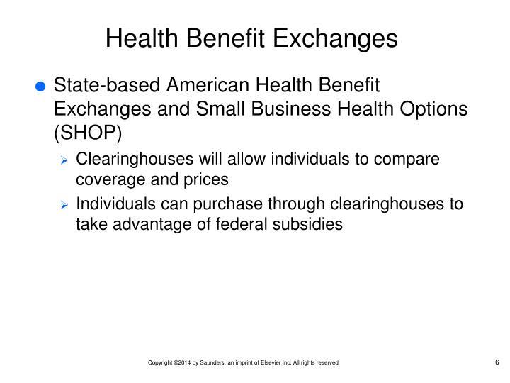 Health Benefit Exchanges
