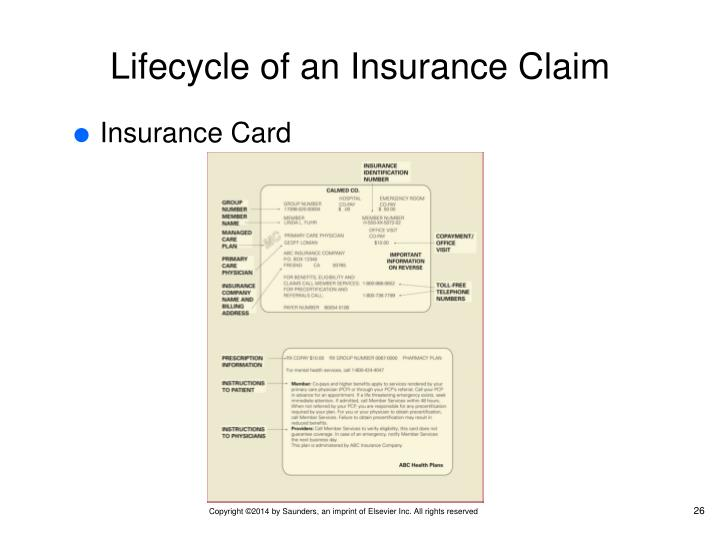 Lifecycle of an Insurance Claim