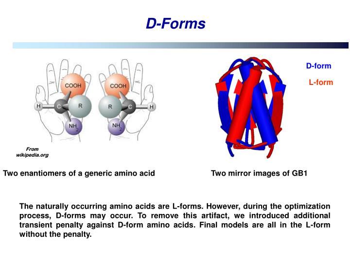 D-Forms