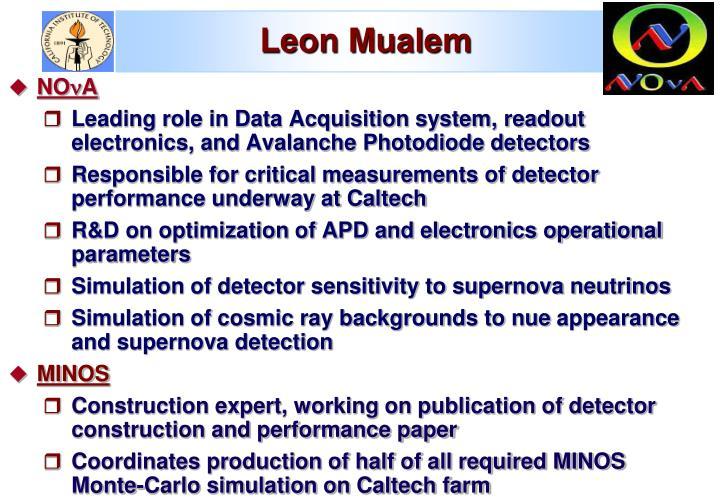 Leon Mualem