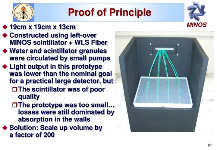 Proof of Principle