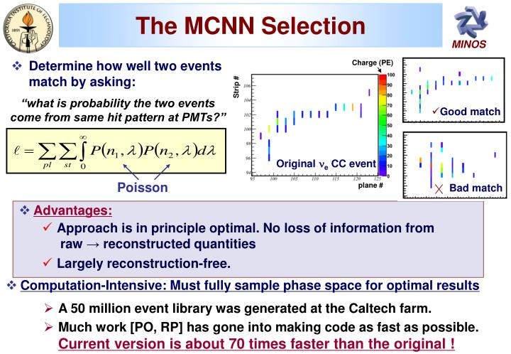 The MCNN Selection
