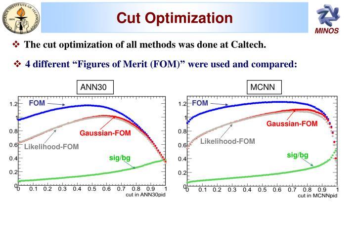 Cut Optimization