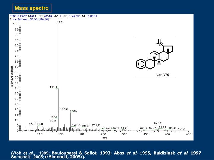Mass spectro