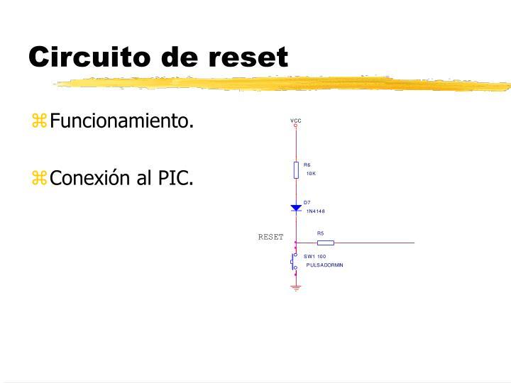 Circuito de reset