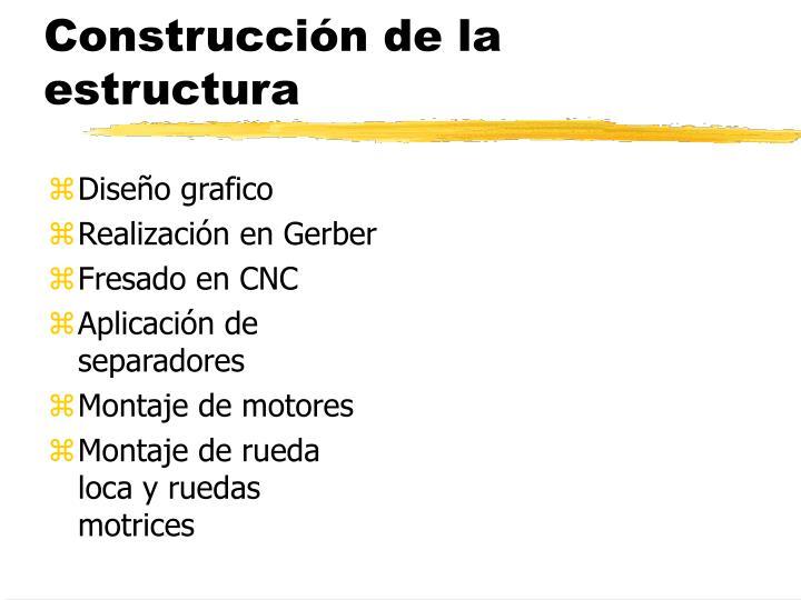 Construcción de la estructura