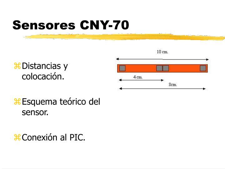 Sensores CNY-70