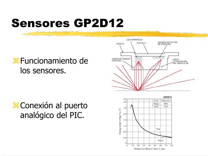 Sensores GP2D12