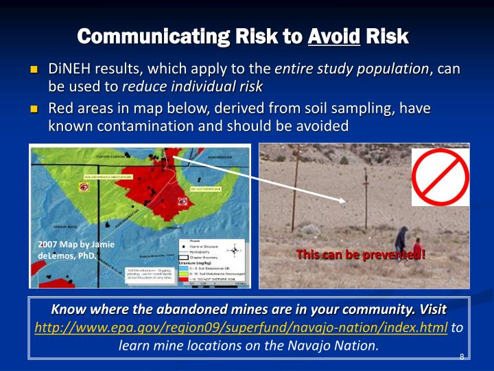 Communicating Risk to
