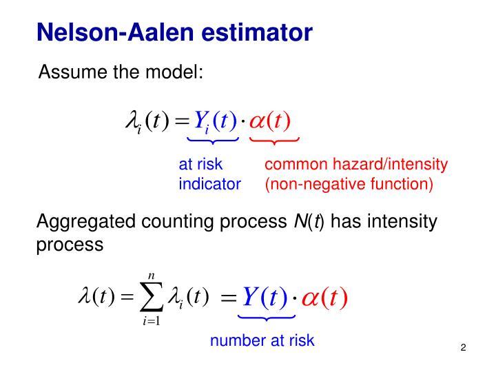 Nelson-Aalen estimator